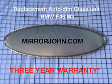 BMW E46 M3 CSL Oval Auto-Dimming Auto Dim Rearview mirror Replacement Glass unit