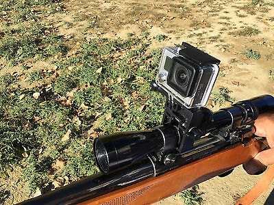 ShotGun Fixed Mount for GoPro Clamps to Any Gun Barrel