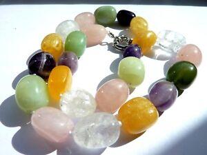 Farbenfrohe-Halskette-5-verschiedene-Edelsteine-Laenge-ca-46-5-cm