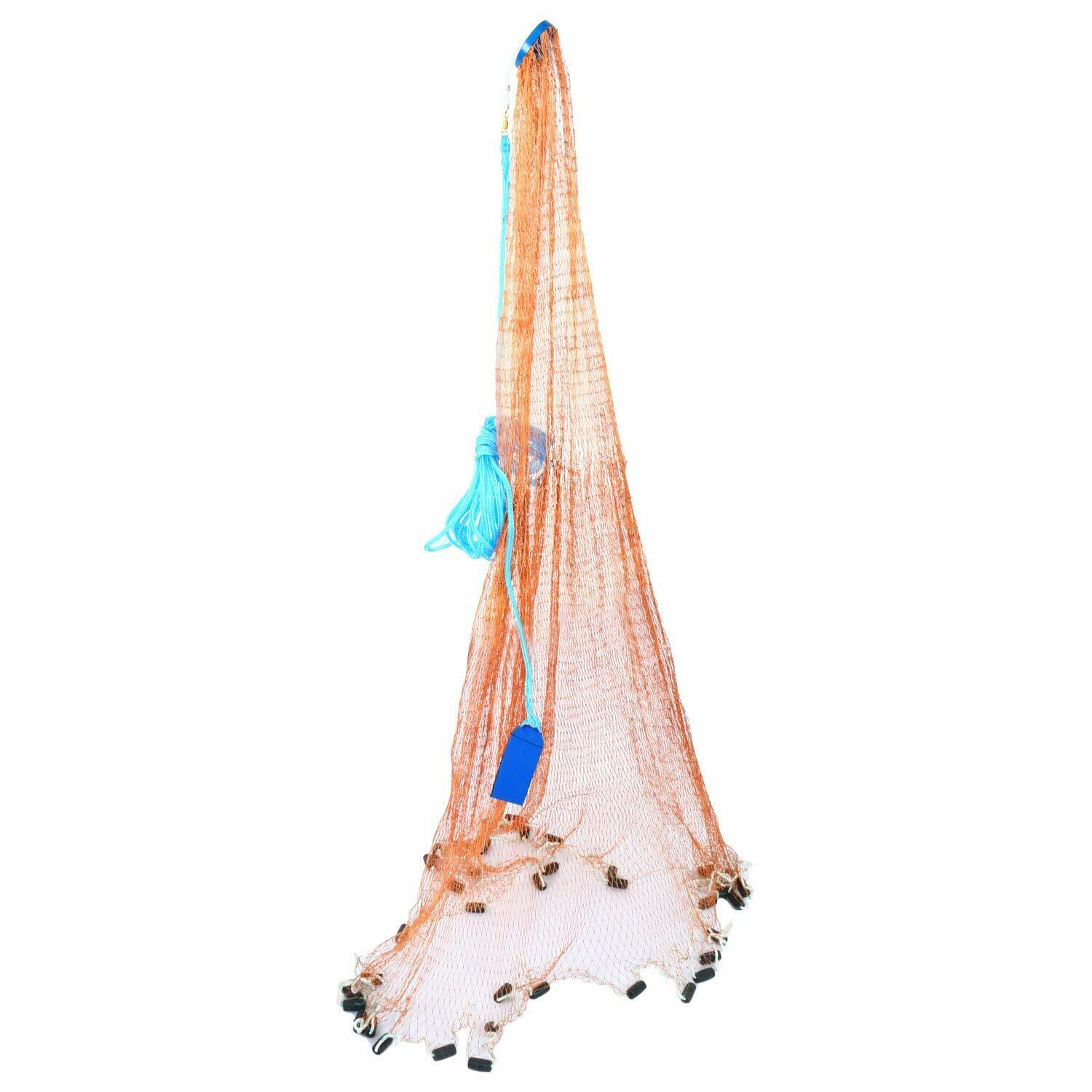 10FT Fishing Cast Net for Bait Trap  Fish Saltwater Hand Throw Fishing Cast Net  incentive promotionals