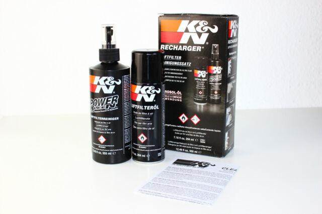 K&n Set Limpieza Limpiador con Aceite para Filtros Aire Deportivo de 99-5003EU