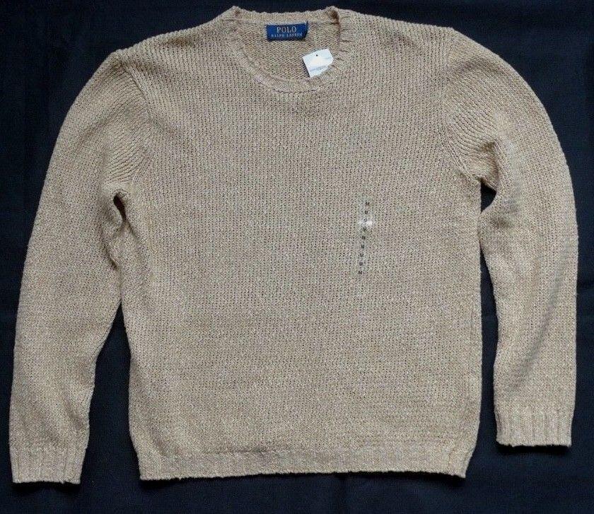 Polo Ralph Lauren sweater beige beige sweater T M 4d6658