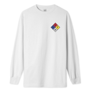 HUF-HAZARD-L-S-T-SHIRT-WHITE