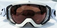 $160 Carrera Mens Crest White Black Fully Polarized Goggles Smith Scott Spy Lens