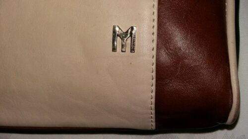 Mysuelly 265 oversize cuero Martine Cognac Clutch Rrp de aPrBawq