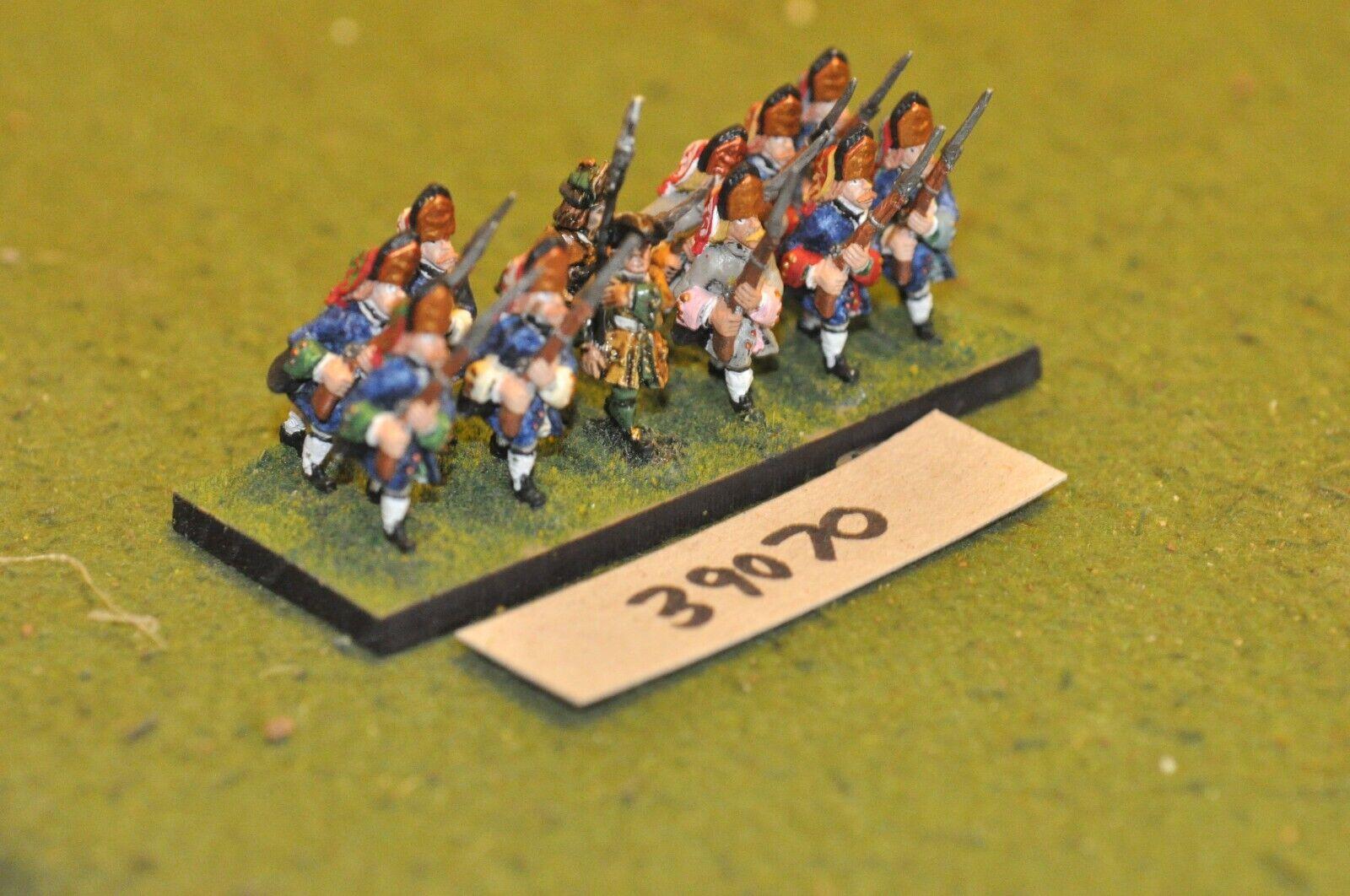25mm marlburian Alemán-Regimiento 12 figuras-INF (39070)