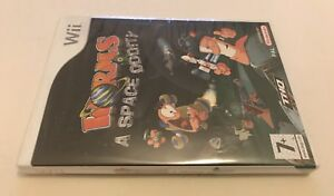 Worms-A-Space-Oddity-Nintendo-Wii-PAL-Brand-New-Sealed-Team-17