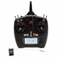 SPEKTRUM DX6E 6 CHANNEL DSMX RC AIRPLANE HELI TRANSMITTER WITH AR610 RX SPM6650