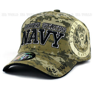 Image is loading U-S-NAVY-hat-Military-NAVY-Official-Licensed-Baseball- 26e4bc6fcaf