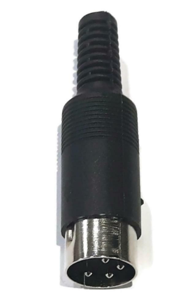 4-Pin DIN Male Plug Connector