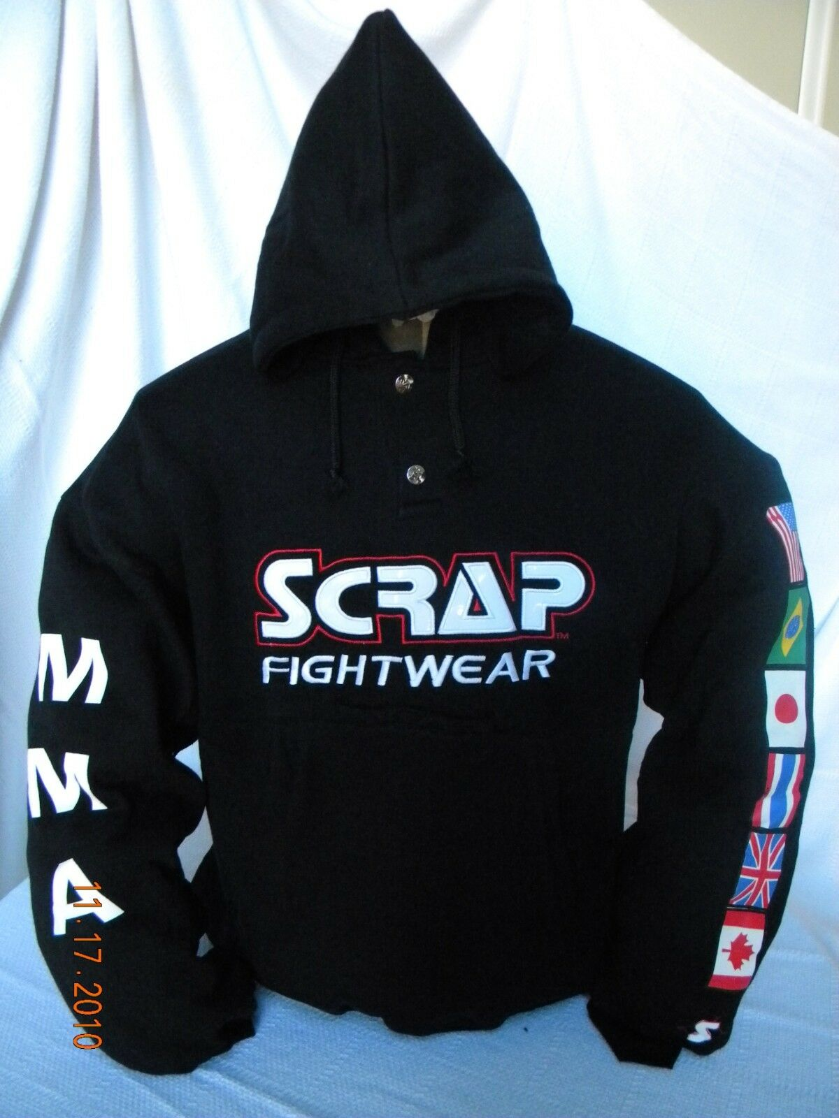 NEW    HOODIE Martial Arts MMA BJJ boxing fightwear training SWEATSHIRT