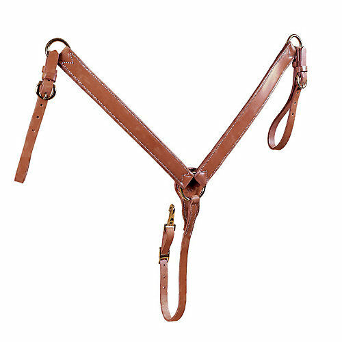 Tory Leather Tory Harness Leather Straight Breast Collar