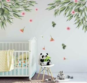 Australia Bush Gum Tree Baby Room Botanical Wall Decal Kid Nursery Sticker Decor Ebay