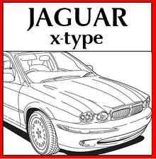 JAGUAR x-type xtype x type WORKSHOP REPAIR SERVICE MANUAL 2001 - 2009