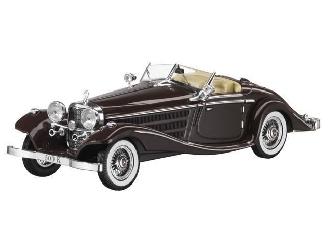 Premium - mercedes 500 k roadster collectibles 1934 besondere braun dealer 1 43  neue