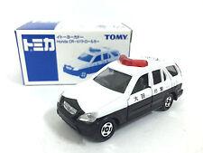 NEW JAPAN TOMY TOMICA HONDA CR-V CRV 1/61 OSAKA POLICE PATROL DIECAST CAR RARE