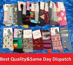 36 Pairs Ladies Women's Coloured Design Socks Cotton Blend Designer Adults Ic3 Nourishing Blood And Adjusting Spirit