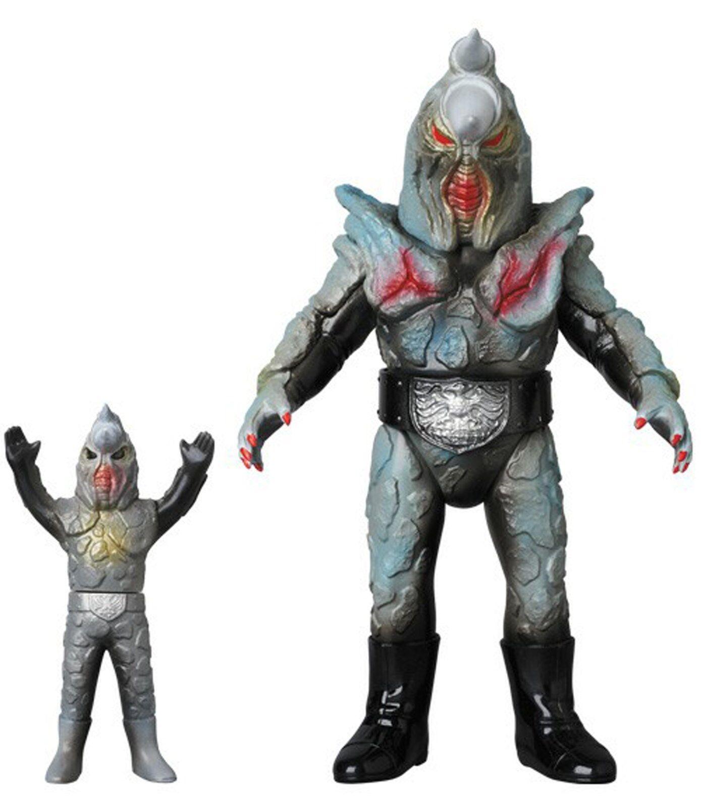Masked Rider Kaijin Rhinogang Renewal Farbe and Mini Soft Vinyl Figure Medicom