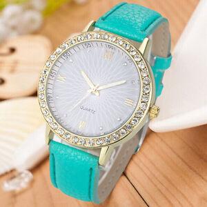 NEW-Fashion-Geneva-Women-Gold-Diamond-Watch-Strap-Leather-Quartz-Wrist-Watches