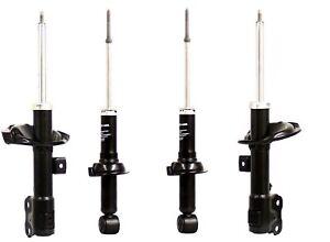 Set of 4 KYB Rear Shocks//Struts FRONT /& REAR Mitsubishi Lancer GTS 2008 to 2011