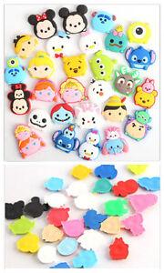 50 Pcs Tsum Tsum Mickey Minnie Soft Decoration Childrens Jewelry DIY Making