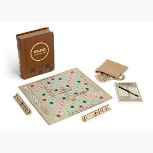 BRAND-NEW-Scrabble-Library-Classic-Edition-Great-Family-Game-for-Summer-Nights