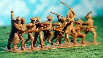 Armies in Plastic Boxer Rebellion China 1900 Defense of Peking 1//32 Scale 54mm