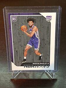 2018 Panini NBA Hoops Marvin Bagley III RC Sacramento Kings Rookie Card Duke