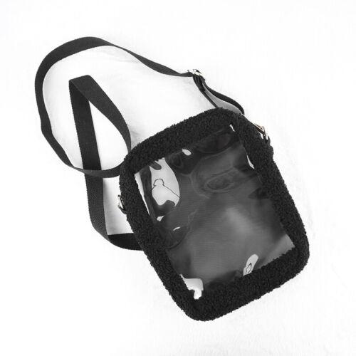 Lolita Girl Transparent Itabag Bjd 20cm Doll Shoulder Bag Plush Messenger Bag