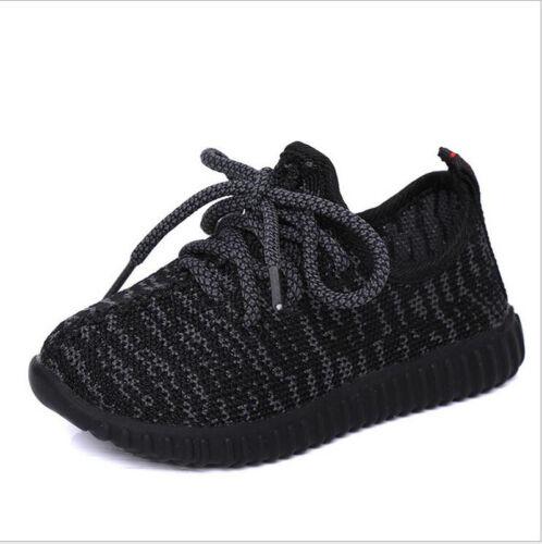 Kids Child Boys Girls Sports Shoe Baby Casual Flats Running Sneaker Mesh Shoes