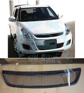 Details about Carbon Fiber Front Bumper Upper Center Grille Modified For  Suzuki Swift 13-17 FN
