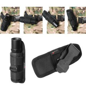 360-Degree-Rotating-Flashlight-Holder-Holster-for-Surefire-G2-6P-Belt-Airsoft