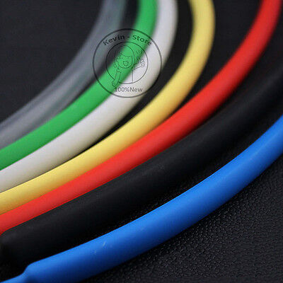 13Feet Blue double-wall heat shrink tubing 6.4mm 3:1 adhesive tube waterproof