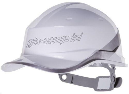 delta plus diamond hard hat safety helmet baseball cap reversible white shaped