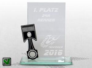 Kart pokale racing trophy glaspokal pokale glas glaspokale for Glaspokale mit gravur