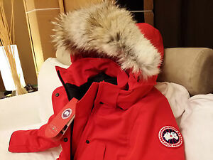 """Canada Goose coats outlet discounts - 2015 Edition """"Red"""" Red Label Canada GOOSE Trillium Small Arctic ..."""