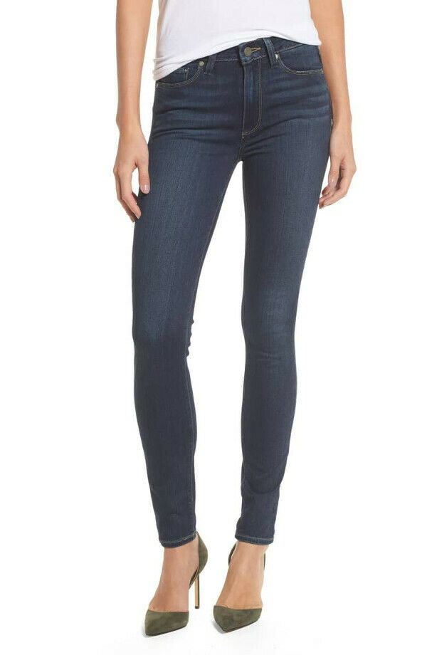 NWT PAIGE Jeans Transcend Hoxton High Rise Ultra Skinny Size 28 Nottingham SMALL