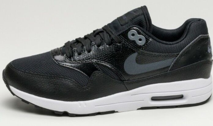 Nike W Air Max 1 Ultra 2.0 noir et blanc UK 5 NEUF Femmes Baskets 881104 002