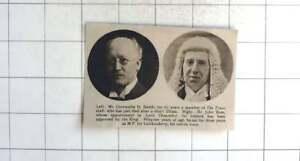 1921 Mr Cornwallis H Smith, Sir John Ross, Lord Chancellor For Ireland
