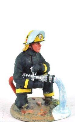 "Forestal Firefighter Figurine Fireman USA 2001 Metal Del Prado 1//32 2.75/"""