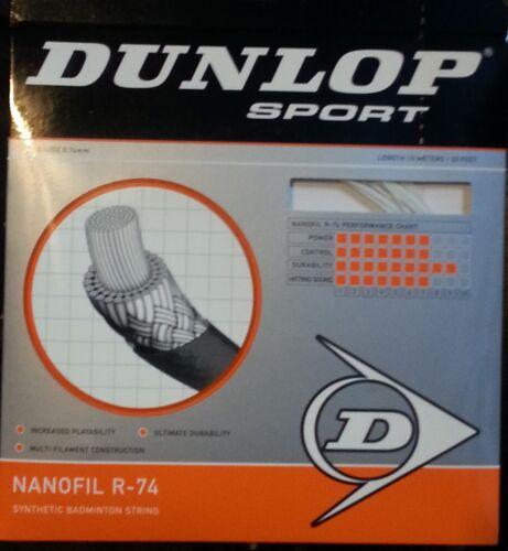 NEW Dunlop R-74 Badminton strings 10 sets