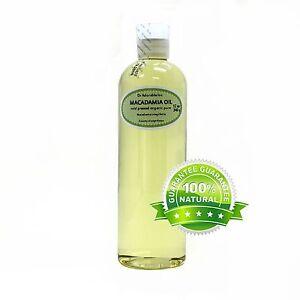 PURE-RAW-MACADAMIA-NUT-OIL-ORGANIC-COLD-PRESSED-2-4-8-16-36-oz-Gallon-Free-S-amp-H