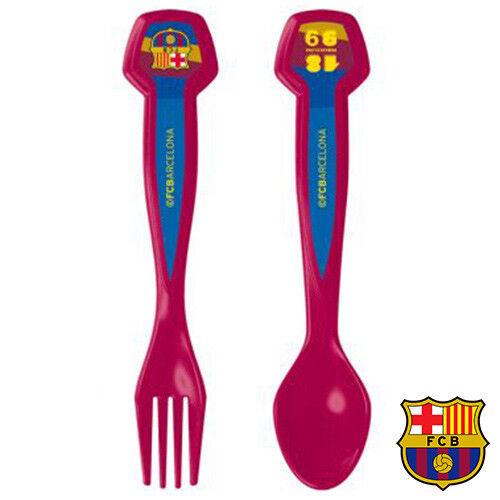 2 Teile Kinderbesteck «FC Barcelona» Besteckset