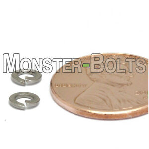 Black Oxide Stainless Steel Lock Washer #6 QTY 50