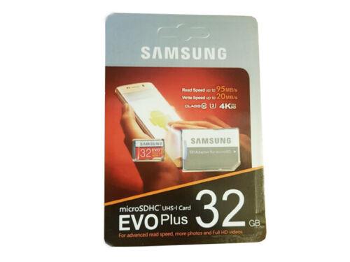 con Adaptador Samsung 4GB 8GB 16GB 32GB 64GB 128GB Micro SD Tarjeta de memoria EVO