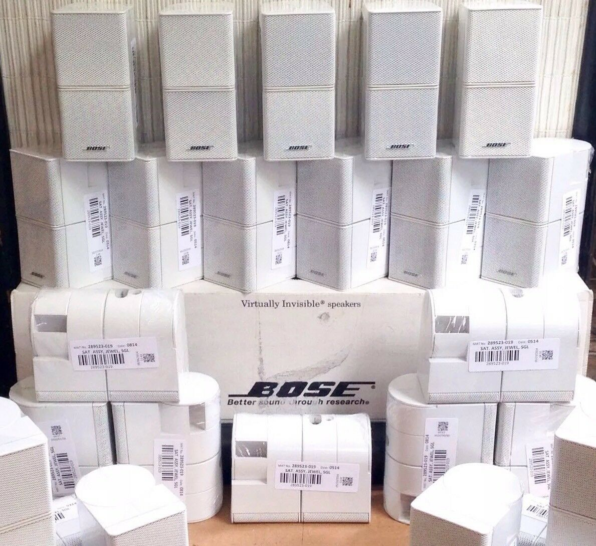 1 Bose Jewel Double Cube Mint Premium Speaker Flawless Multiple Available White