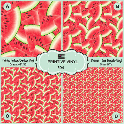 picture regarding Printable Outdoor Vinyl called Watermelon Habit Released Siser HTV, Oracal Adhesive Vinyl - 504 eBay