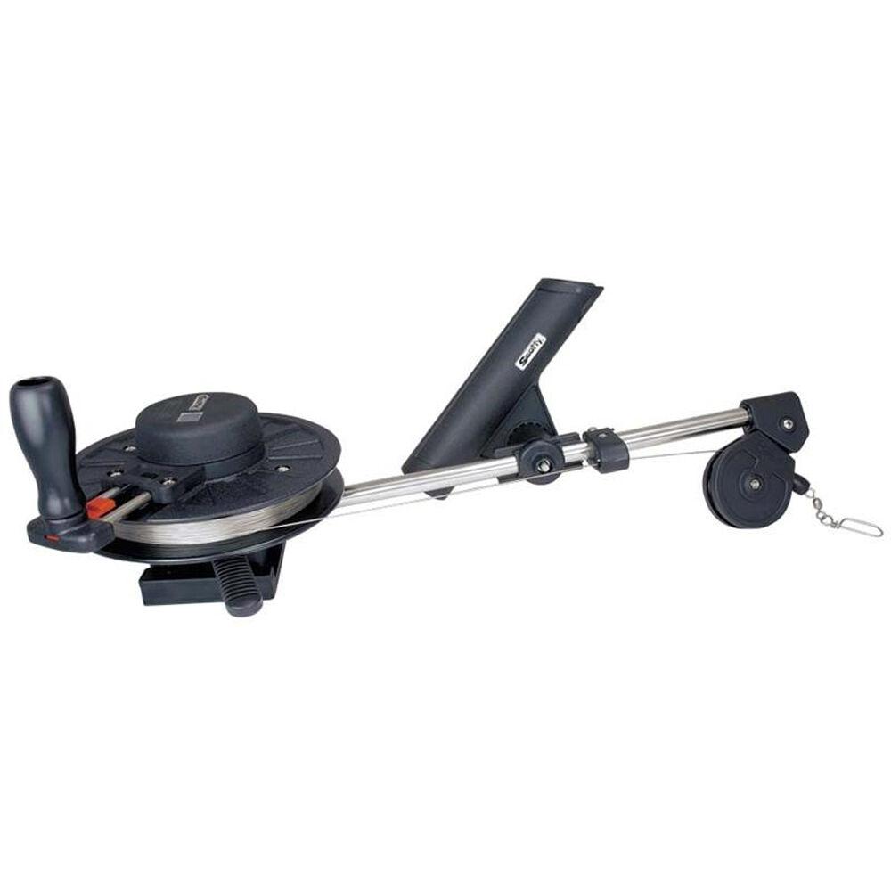 Scotty 1060 Depthking Manual Downrigger w Rod Holder model 1060DPR