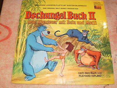 Vinyl-LP - Walt Disney - DSCHUNGEL BUCH II - Disneyland FOC 9616