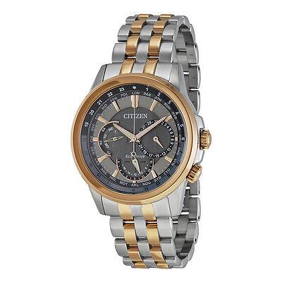 Citizen Eco-Drive Men's BU2026-57H Chronograph Two Tone Bracelet Watch